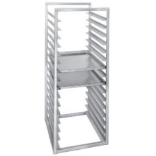 "Channel® Aluminum Reach-In Bun Pan Rack f/ 18 x 26"" Trays"