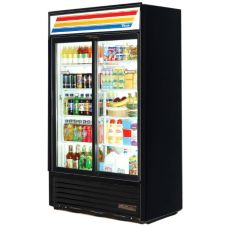 True GDM-41SL-LD BLACK EXTERIOR 33 Cu Ft Refrigerator Merchandiser