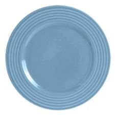 "Steelite B073P307 Anfora Tiffany Blue Lagoon 9"" Plate - 24 / CS"
