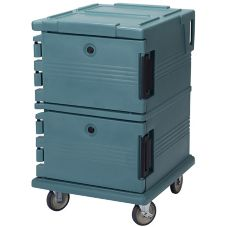 Cambro UPC1200401 Slate Blue Ultra Camcarts for 12 Full Size Food Pans