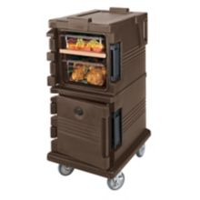 Cambro UPC600131 Dark Brown Ultra Camcarts for 6 Full Size H Food Pans