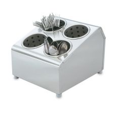 Vollrath® 97240 Silv-A-Tainer 4-Hole S/S Silverware Dispenser