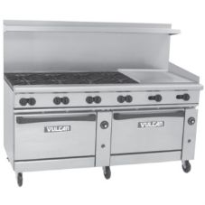 Vulcan Hart 72SC-8B-24G Endurance Gas Restaurant Range with 8 Burners
