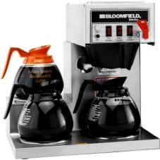Bloomfield® Koffee King® S/S 3-Warmer Coffee Brewer w/ Faucet