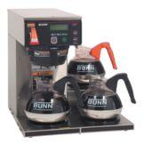 BUNN® 38700.0003 AXIOM 200 Oz. Coffee Brewer with 3 Lower Warmers