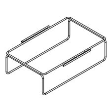 "Randell® FX-PCRACK-1 One Powder Coated Rack for 12 x 20"" Pan"