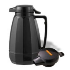 Service Ideas New Generation® Black 1 liter Decaf Server
