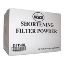 Disco® DFP-80 Filter Aid 80-Pack Filter Powder - 80 / CS