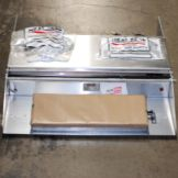 Heat Seal 625AT 1-Roll Wrapper with Timer & 14 Gauge Bridge