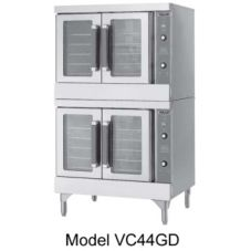 Vulcan Hart VC44GC S/S Double Deck Gas Standard Convection Oven