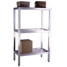 Three Shelf Heavy Duty Shelving Unit, 1500 lb Capacity, 24 x 48 x 60