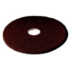 "3M™ 8441 13"" Brown Floor Stripper Pad 7100 - 5 / CS"
