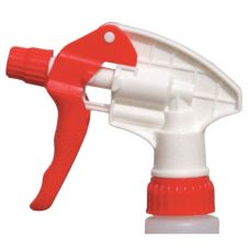 "Continental 902RW9 Spray-Pro™ Red / White 9.75"" Trigger Sprayer"