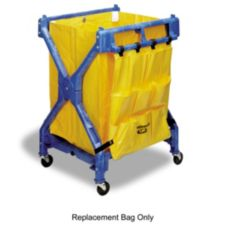 Continental 276 Yellow Vinyl Replacement Bag For X-Frame Folding Carts