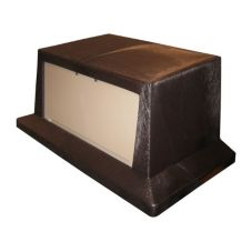 Continental Brown / Beige Push Door Lid for Wall Hugger Receptacles