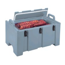 Cambro® 100MPC132 Dark Brown 100 Series Insulated Food Pan Carrier