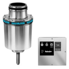 "Salvajor 7.5-HP Disposer w/ Safety Disconnect / 15"" Cone Assembly"