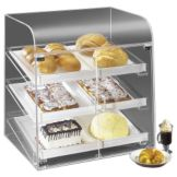 "Cal-Mil 288 Acrylic 27 x 23 x 28"" Classic Bakery Display Case"
