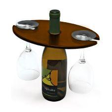 FOH® RAH001BRL12 Brown London Water / Wine Amenity Holder