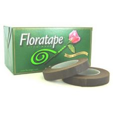 "Fall River Florist 61777 008 Green 1"" Floratape - 1 / RL"