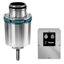 "Salvajor 5-HP Disposer w/ 3-1/2"" Sink Assembly / Solenoid Valve"