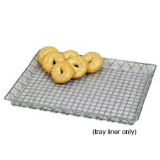 "Willow Specialties 23"" x 17-1/4"" Clear Tray Liner"