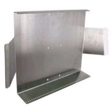 Satin Finish S/S 45-Hole Line Built Bracket