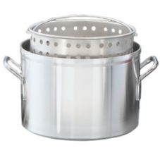 Vollrath® 68270 Wear-Ever® 40 Qt. Aluminum Boiler / Fryer Set