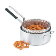 Vollrath® 68228 Wear-Ever 12 Qt. Aluminum Fryer with Basket