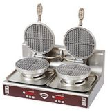 "Wells Manufacturing 20104 Standard Double Waffle Baker with 7"" Grids"