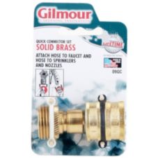 Gilmour 09QC Male / Female Hose Coupler