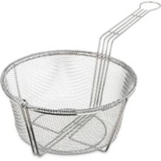 "Carlisle 9-3/4"" Round Basket Fryer Basket"