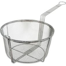 "Carlisle 11-1/2"" Round Basket Fryer Basket"