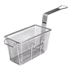 FMP® 225-1018 Standard Fryer Basket With Left Front Hook