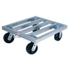 Win-Holt® TD-2428 Aluminum Square Tubular Dolly with Casters