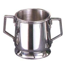 Eastern Tabletop S/S 10 Oz. Legacy Sugar Bowl with Easy Grip Handles