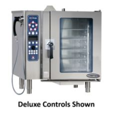 Pressureless Convection Gas CombiOven w/ Simple Controls, 10-10ESG/S