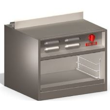 "Vulcan VCM24 Range Mount 24"" Cheesemelter with 18,000 BTU Burner"