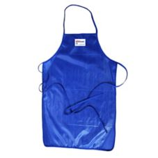 "Tucker Safety 50362 Blue 36"" QuicKlean™ Apron"