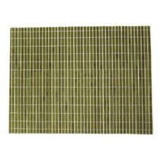 "Front Of The House® 18""x13"" Green Bamboo Placemat"