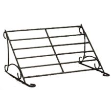American Metalcraft Large Black Wrought Iron Buffet System Frame