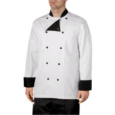 Chefwear® Medium Black Lined Five-Star Chef Jacket