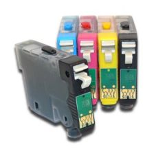 Kopykake 4-Color B/M/C/Y Edible Ink Cartridge Set for Epson Printers