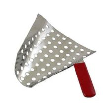 Gold Medal 2072 Perforated Stainless Steel Popcorn Jet Scoop