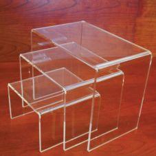 Grand & Benedicts 223-1052 Medium Acrylic 3-Riser Set