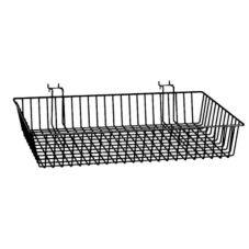 Slanted Multi Basket, Black, 24 x 12 x 2