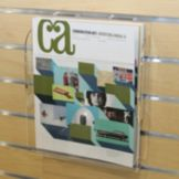 Brochure Holder For Slatwall, Clear, 8-1/2 x 11