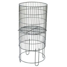 Grand & Benedicts 289-15-RDB-B-KD Collapsible Round Wire Basket