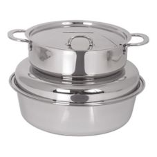 Spring USA® 2375-6/6H 6 Qt. Soup Station With Chrome Accents