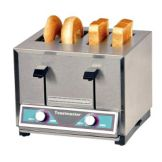 Toastmaster BTW24 4-Slot Pop-Up 208V Bagel / Bun Toaster